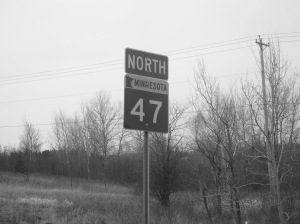 Hwy 47 sign
